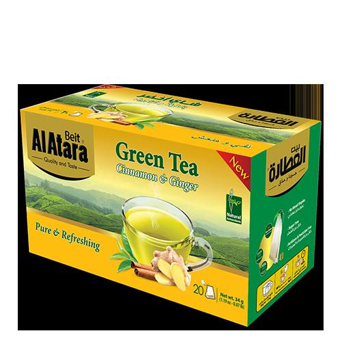 Green Tea Cinnamon & Ginger